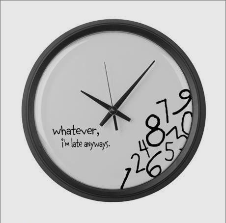 Pontualidade até nos atrasos
