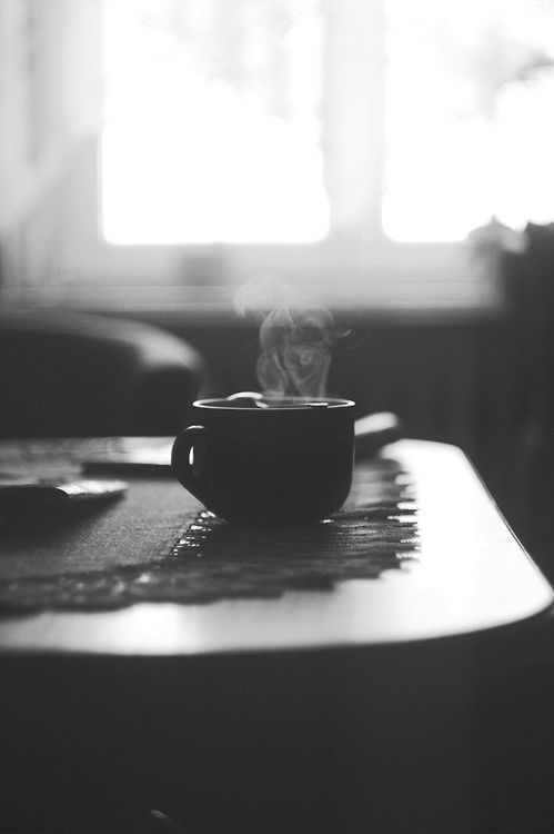 Coffee time Fonte: Pinterest