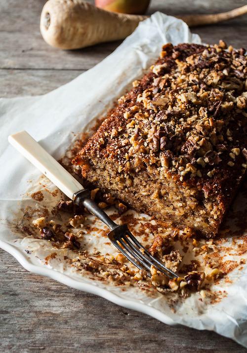 Bolo de Pastinaca e Maçã da Be Nice, Make a Cake