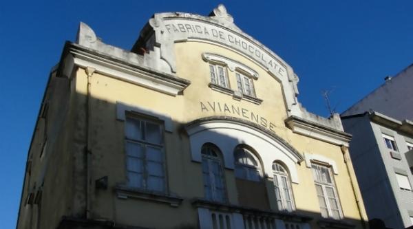 A fachada original