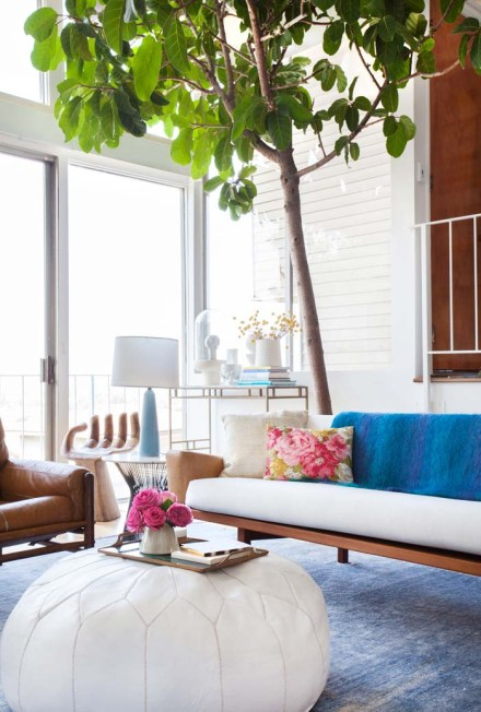 Emily-Henderson-Living-Room-Poof-Couch-Tree